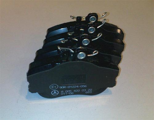 Тормозные колодки для автомобилей Мерседес